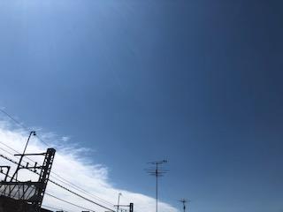 柏スクールからの空
